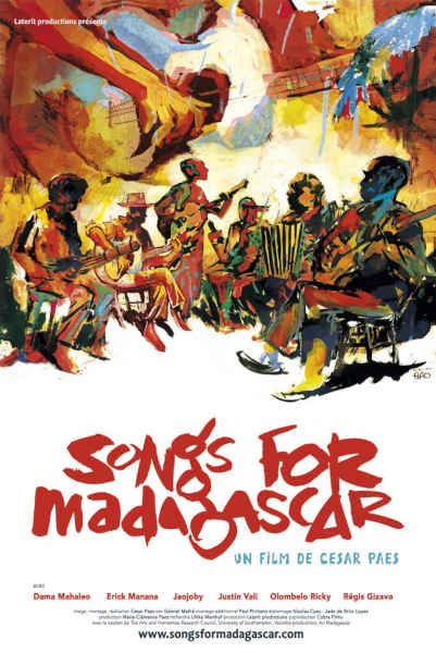 affiche songs for madagascar600