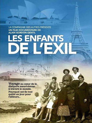 affiche film documentaire les enfants de l'exil alain gordon-gentil ile maurice